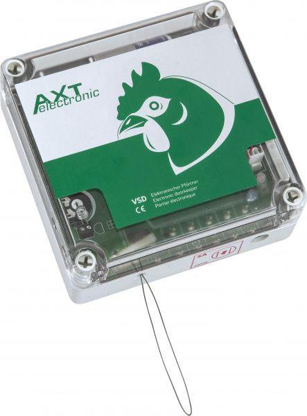 Elektronischer Türpförtner mit Netzstecker, Zeitschaltuhr, Dämmerungssensor