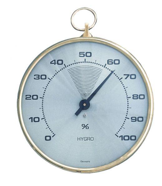 Bimetallic hygrometer