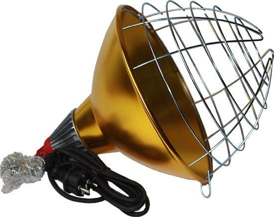 Schutzkorb Ø 30 cm mit Dunkelstrahler 250 W