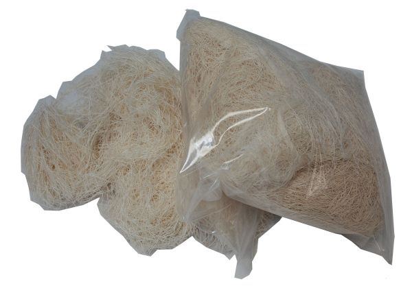 Nistmaterial Scharpie (cotton natural) - 1000gr.