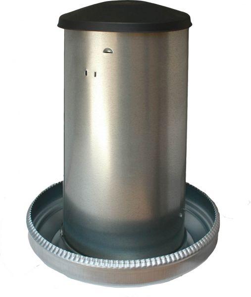 Futterautomat für Geflügel - verzinkt - (42kg)