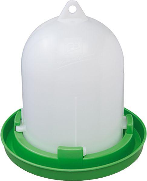 Poultry drinker - drinker for quails - Bio plastic (1,5 l)