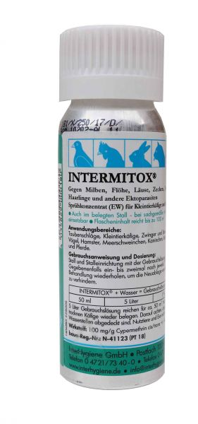 Intermitox insecticide spray concentrate (100 ml)