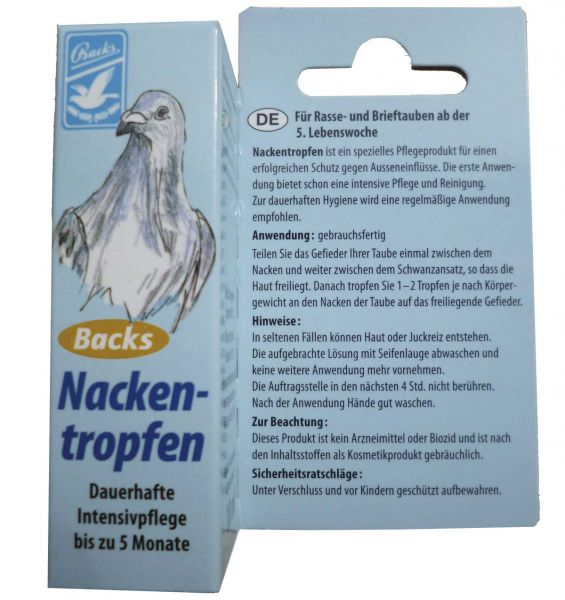 Backs Nackentropfen (10ml)