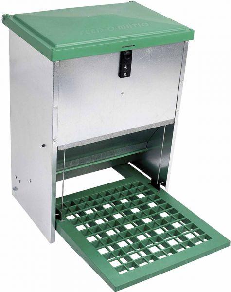 Automatic feeder - galvanized - (12 kg)