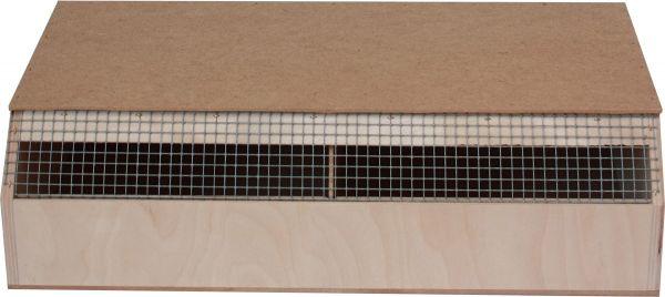Transportkiste für Vögel (2 Abteile)