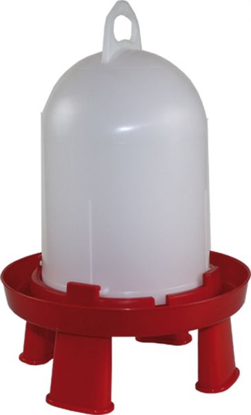 Poultry drinker - (5,5 l) with feet