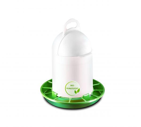 Futterautomat ca. 4 kg mit Klappdeckel Bio-Kunststoff