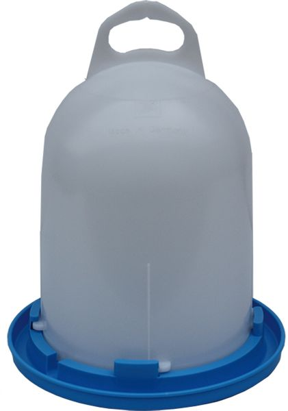 Poultry drinker - drinker for quails - (3,5 l)