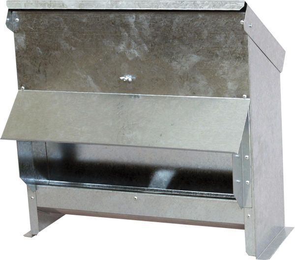 Poultry feeder with rain cover - 25 L