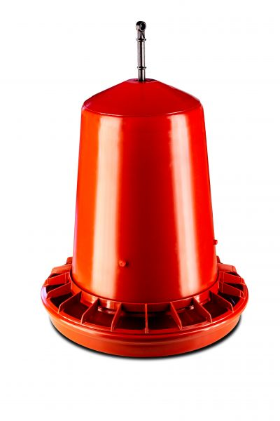 Feeder for poultry - plastic - (approx.9-12 kg)
