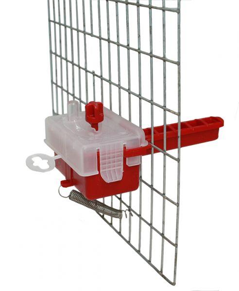 Automatiktränke mit Schwimmschalter,Vögel,Wachteln