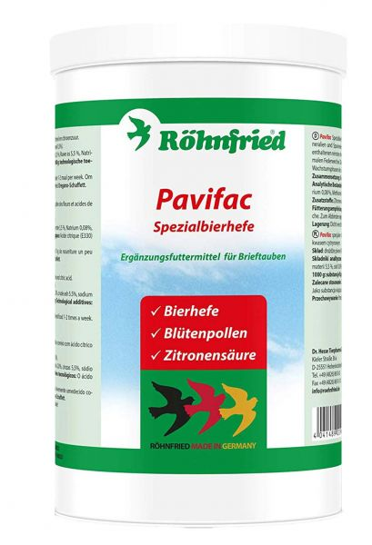Pavifac special yeast (800g)