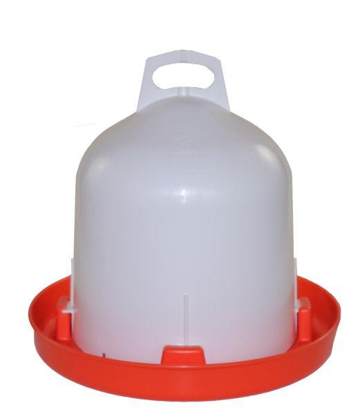 Poultry drinker (6 l) - orange