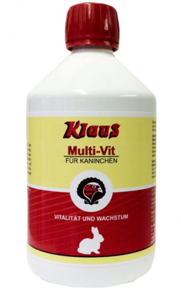 """Multi-Vit"" for rabbits (500ml)"