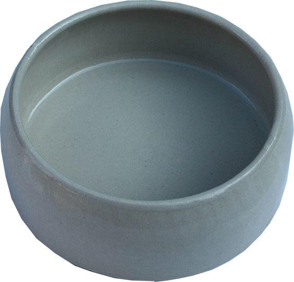 Futternapf aus Ton, glasiert - 750 ml
