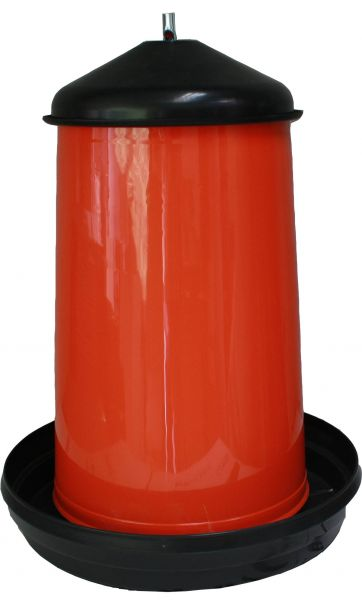 Feeder for poultry - plastic - (18kg)