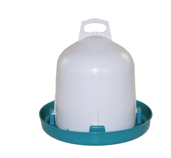 Poultry drinker (6 l) - turquoise