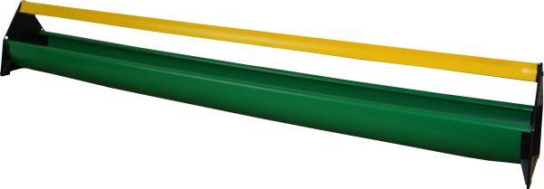 Futtertrog für Junghennen m. Abwehrrolle - 100 x 10,5 cm
