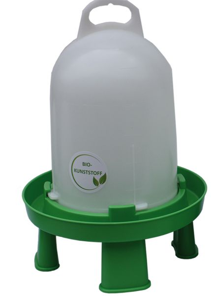 Poultry drinker - Bio plastic with feet (5,5 l)