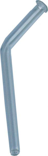 Glasröhrchen gebogen, mit Wulst - 12 cm