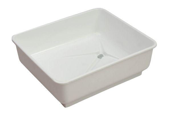 Badewanne für Tauben mit Abfluss