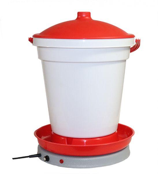 2-teiliges Set Tränkeneimer und Tränkenwärmer (Thermostat)