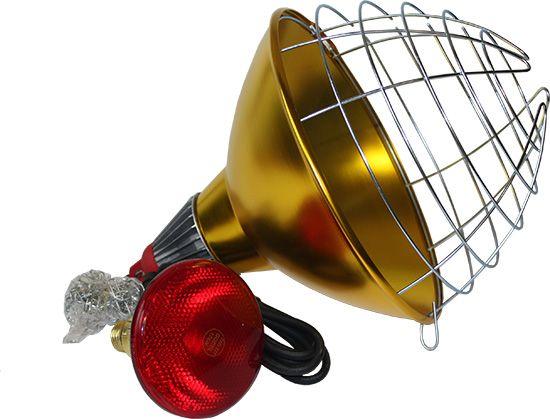 Schutzkorb für Infrarotlampen/Dunkelstrahler ink - Bild 1