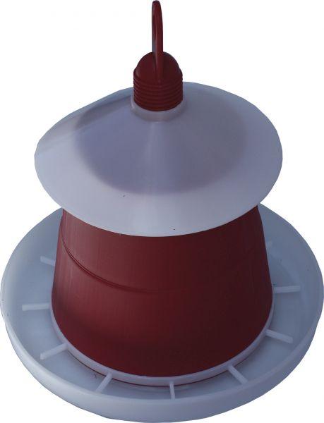 Feeder for poultry - plastic - (6kg)
