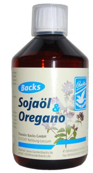 Sojaöl and oregano (500 ml)