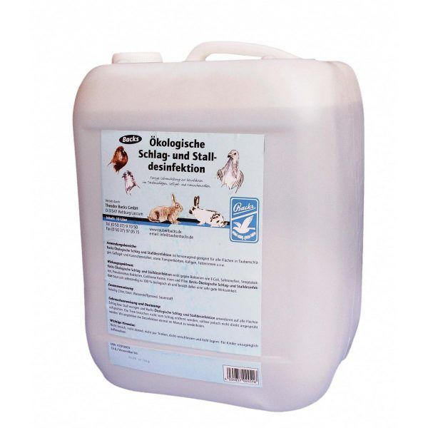 Backs ecological stable disinfection (5000ml)