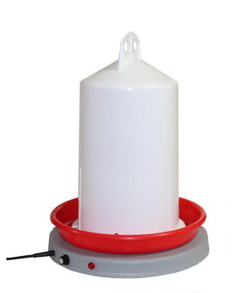 2-teiliges Set Doppelzylindertränke (7 l) und Tränkenwärmer