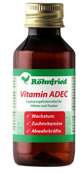 Vitamin ADEC - Vitamins for all kind of animals (100ml)