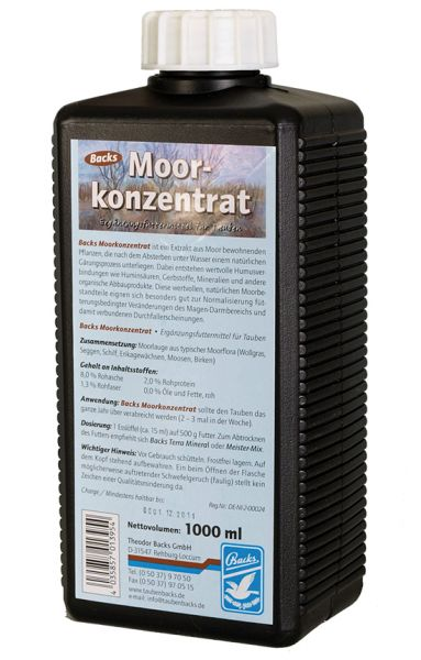 Moor concentrate - 1000ml