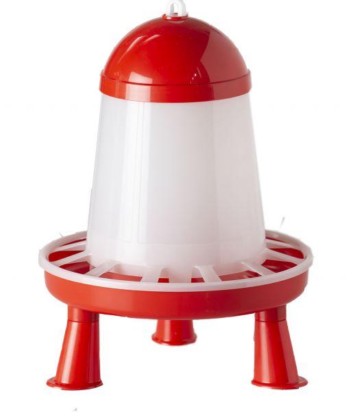 Plastic feeder with feet (3 kg)