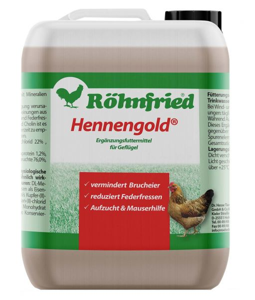 Hennengold mineral feed liquid (5000ml)