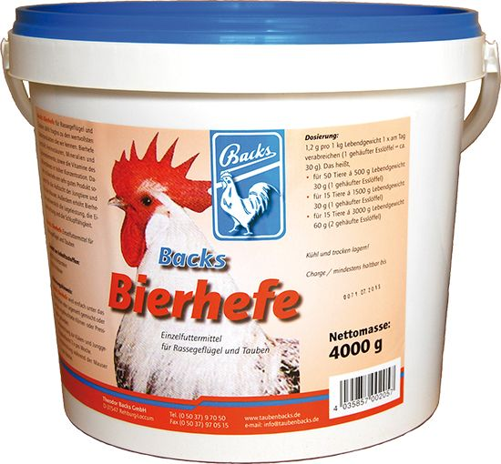 Backs Bierhefe - 4KG