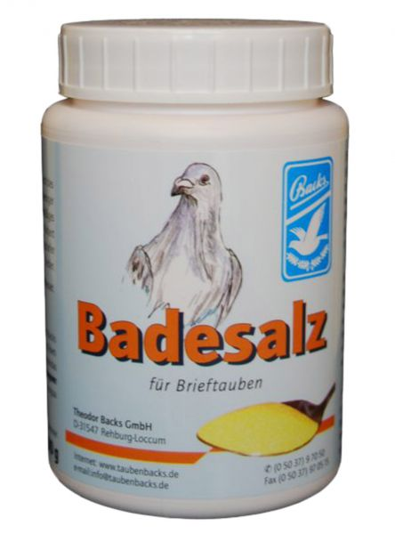 Backs Badesalz (600g)