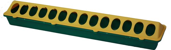 Futtertrog für Küken - 50 x 10 cm