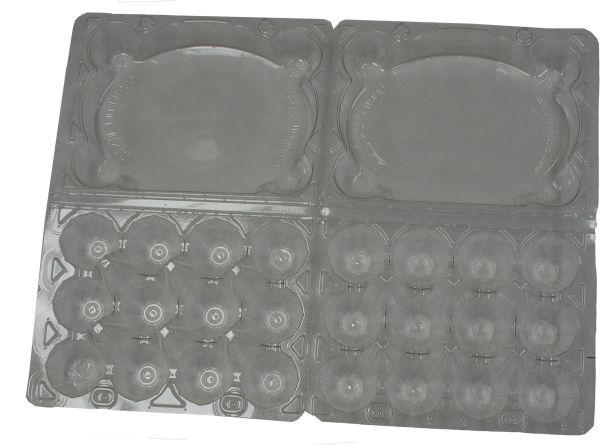 Egg carton for quail eggs