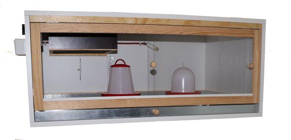 Aufzuchtbox für Küken 100 x 64 x 45 H cm