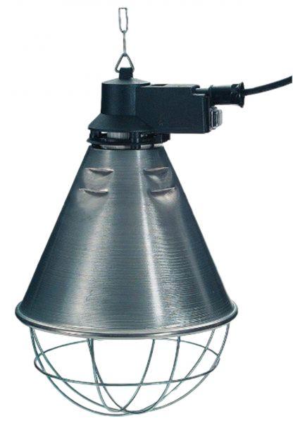 Schutzkorb Ø 21 cm (Sparschaltung) mit Infrarot Sparlampe 175 W