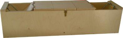 Lebendfalle - Marderfalle - Iltisfalle (100 x 20 x 20 cm) - Bild 1