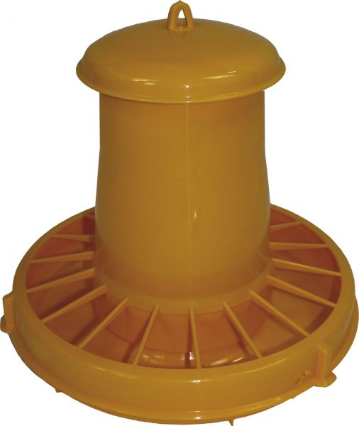 Feeder for poultry - plastic - (7kg)