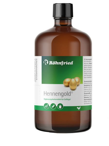 Hennengold - Mineralfutter flüssig (1000ml)