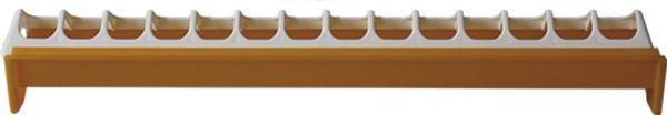 Futtertrog für Küken - mit Fressplatzeinteilung (50 x 5 cm)