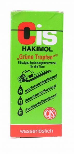 """Cis Hakimol """"Grüne Tropfen"""" (50ml)"""
