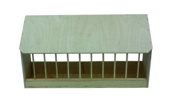 Gritkasten mit Schrägdach - 55,5 x 11,5 x 33 cm - Bild 1