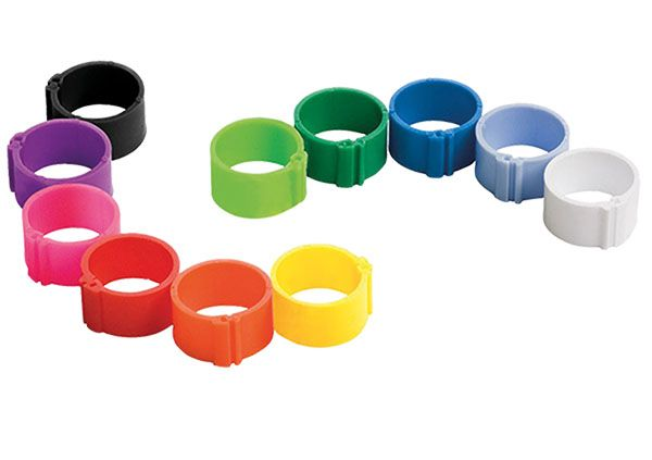 Plastic clip ring (8 mm)