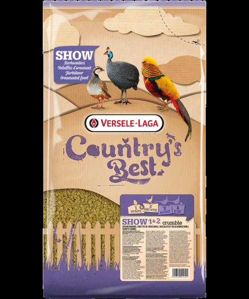 Show 1&2 crumble für Fasane und Hühner 5 kg